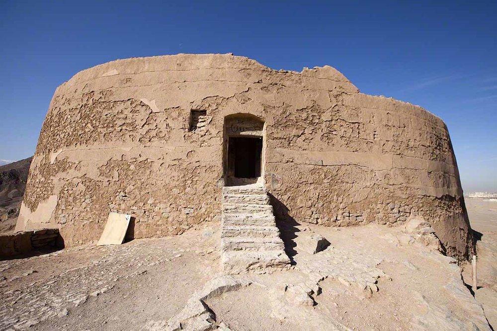 Zoroastrian Towers of Silence