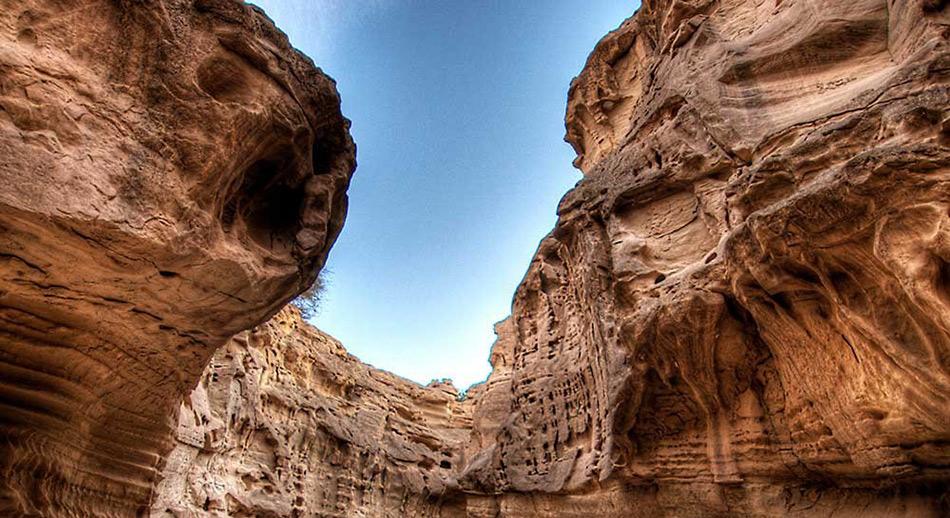 Chahkuh-canyon