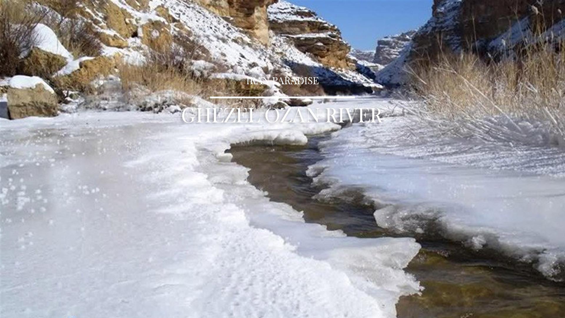 ghezel-ozan-river
