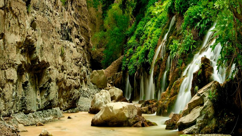 haft-cheshmeh-waterfall