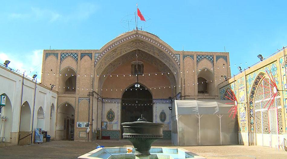 مسجد-جامع-کاشان