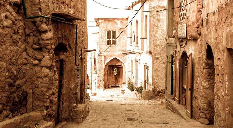 ghalat-village