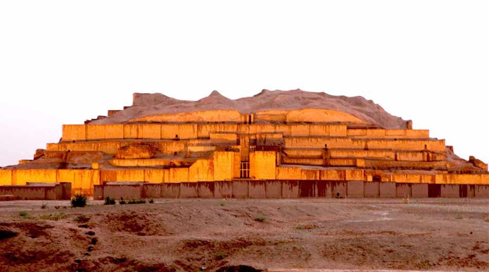 Choqa-Zanbil-Ziggurat