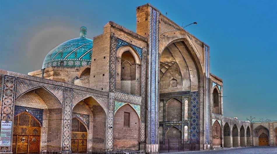 Qazvin-Jameh-Mosque